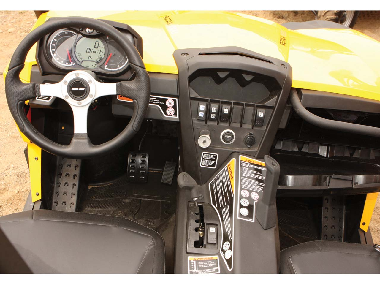 Salute The Commander New Can Am Side X Side First Ride