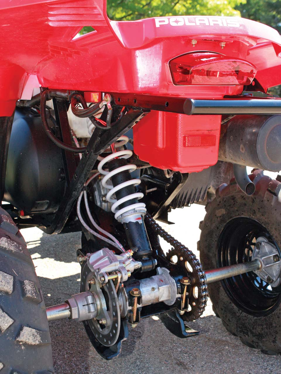 2001 Scrambler 400 Headlight | Reviewmotors.co
