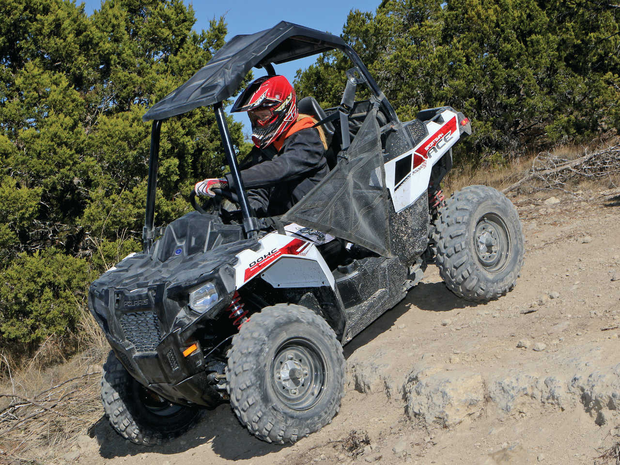 First Ride Polar Opposites Atv Illustrated Ace Wiring Diagram Polaris Sportsman 2015polarissportsman Aceleftwhiteridingdown
